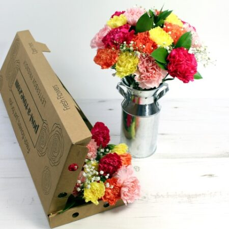 Letterbox Classic Carnations