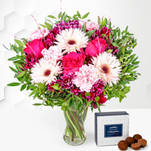Crimson Collection - Flower Delivery - Next Day Flower Delivery - Flowers By Post - Send Flowers - Flowers UK